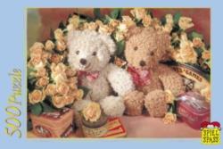 Jigsaw Puzzles - Romantic Teddies