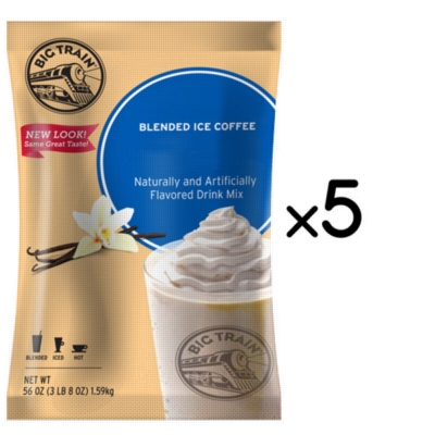 Big Train Blended Ice Coffee - 3.5 lb. Bulk Bag Assorted Case