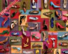 Shoes! Shoes! Shoes! - 1000pc Jigsaw Puzzle by Springbok