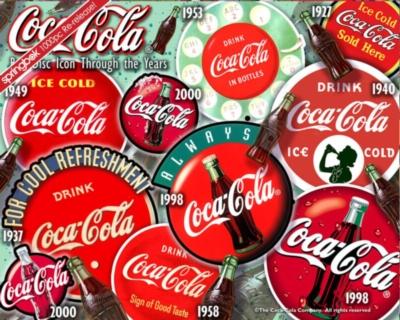 Coca-Cola Puzzles - Red Disc Icon