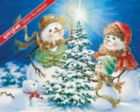 Frosty Family - 1000pc Jigsaw Puzzle by Springbok
