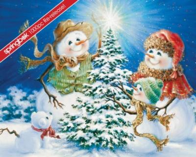 Springbok Jigsaw Puzzles - Frosty Family