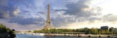 Panoramic Jigsaw Puzzles - Paris