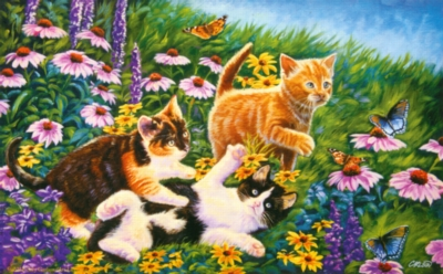 Jigsaw Puzzles - Carefree Days