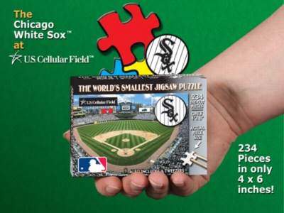 Chicago White Sox: U.S. Cellular Field - 234pc TDC Miniature Jigsaw Puzzle