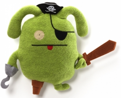 "Pirate OX - 14"" by Uglydoll"