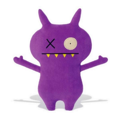 "Handsome Panther - 7"" Little Uglys by Uglydoll"