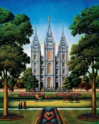 Dowdle Jigsaw Puzzles - Salt Lake Temple