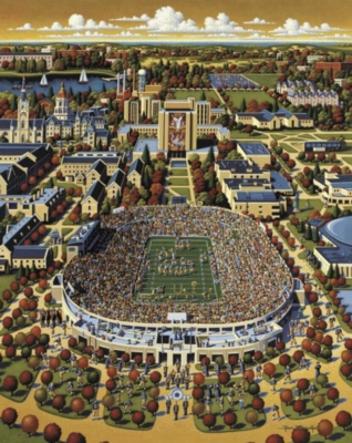 Dowdle Jigsaw Puzzles - Notre Dame Football
