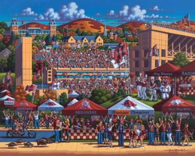 Dowdle Jigsaw Puzzles - Arkansas Football