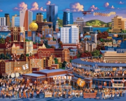 Dowdle Jigsaw Puzzles - Tennessee Football