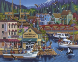 Dowdle Jigsaw Puzzles - Ketchikan