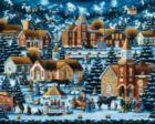 Alpine Christmas - 1000pc Jigsaw Puzzle by Dowdle