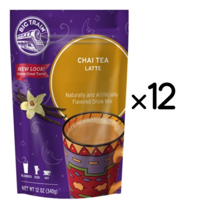 Big Train Chai Tea - 12 oz. Retail Bag Assorted Case