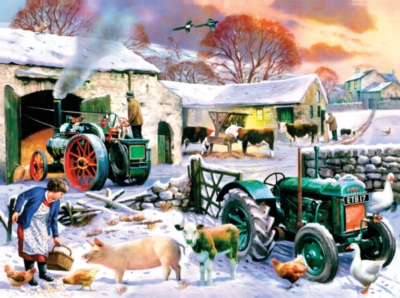 Jigsaw Puzzles - English Winter