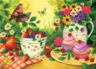 Cupcakes for Two - 500pc Large Format Jigsaw Puzzle By Sunsout