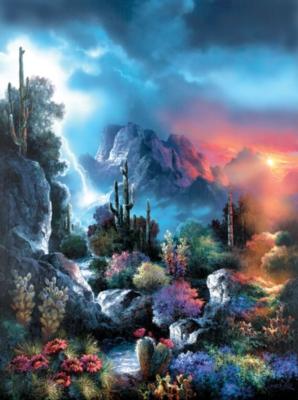 Spring Puzzles - Desert Storm Vista