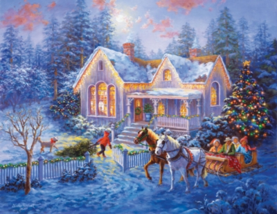Large Format Jigsaw Puzzles - Welcome Home