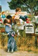 Jigsaw Puzzles - Waiting for the Mailman