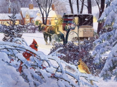 Jigsaw Puzzles - A Friendly Visit