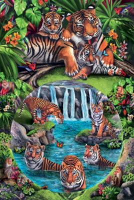 Jigsaw Puzzles - Tiger Play