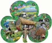 Shaped Jigsaw Puzzles - Irish Charm