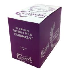 Cocomels Coconut Milk Caramels: Sea Salt - Case of 12 5ct Bags