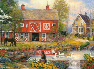 Jigsaw Puzzles - Reflections on Country Living
