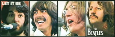 Panoramic Jigsaw Puzzles - The Beatles: Let It Be