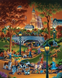 Dowdle Jigsaw Puzzles - Dog Walkers