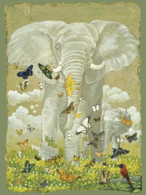 Jigsaw Puzzles - African Elephant