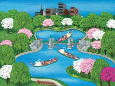 Jigsaw Puzzles - Swan Boats