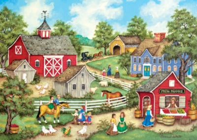 Fresh Produce - 500pc Jigsaw Puzzle by Masterpieces