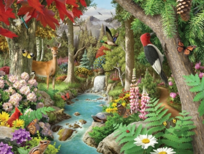 Jigsaw Puzzles - Down the Calming Stream