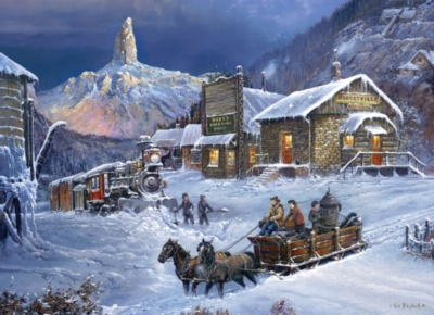 Jigsaw Puzzles - Nuggetville Winter