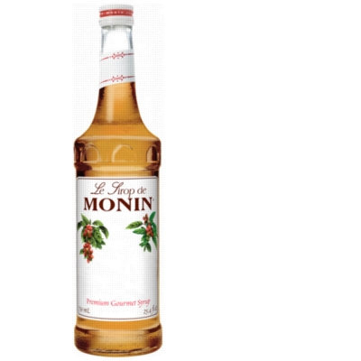 Monin Classic Flavored Syrups - 750 ml. Glass Bottle
