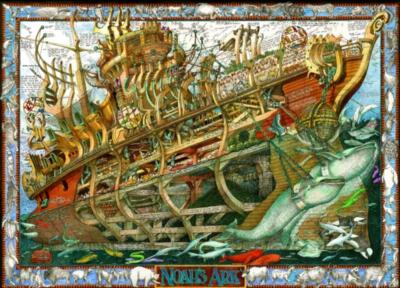 Jigsaw Puzzles - Buried Blueprints: Noah's Ark