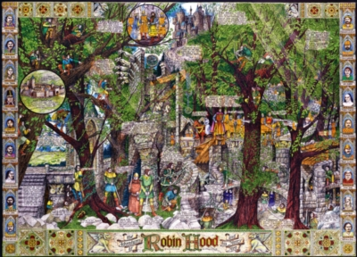 Jigsaw Puzzles - Buried Blueprints: The Adventures of Robin Hood