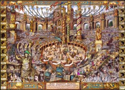Jigsaw Puzzles - Buried Blueprints: The Gladiators