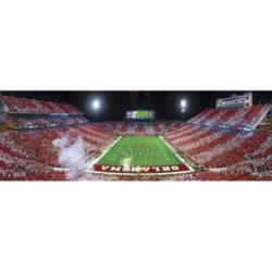Panoramic Jigsaw Puzzles - University of Oklahoma: Memorial Stadium