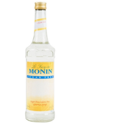 Monin Sugar Free Flavored Syrups - 750 ml. Glass Bottle