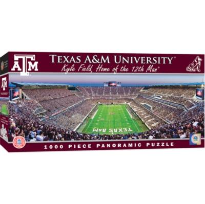 Panoramic Jigsaw Puzzles - Texas A&M University: Kyle Field