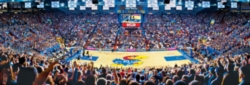 Panoramic Jigsaw Puzzles - University of Kansas: James Naismith Court