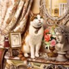 Catology: Bartholemew - 1000pc Jigsaw Puzzle by Masterpieces