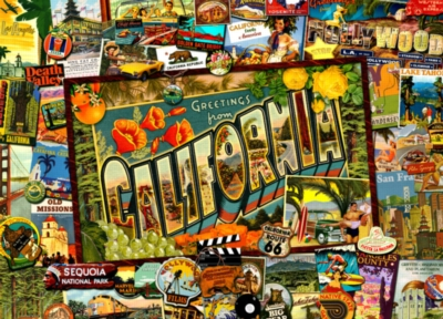 Jigsaw Puzzles - California