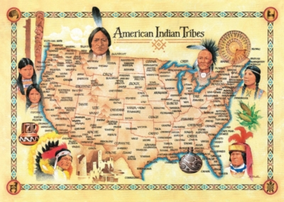 Jigsaw Puzzles - American Indian Tribes