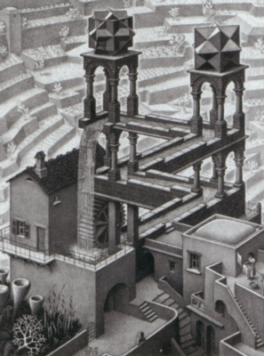 Jigsaw Puzzles - Escher's Waterfall
