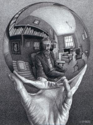 Jigsaw Puzzles - Escher's Self Portrait