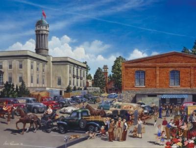 Jigsaw Puzzles - Farmers Market - Large