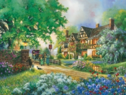 Cobble Hill Large Format Jigsaw Puzzles - Old Coach Inn